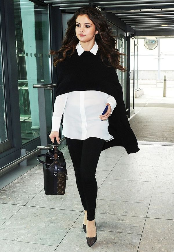 7 Celebrity-Approved Ways To Wear Leggings To Work | WhoWhatWear