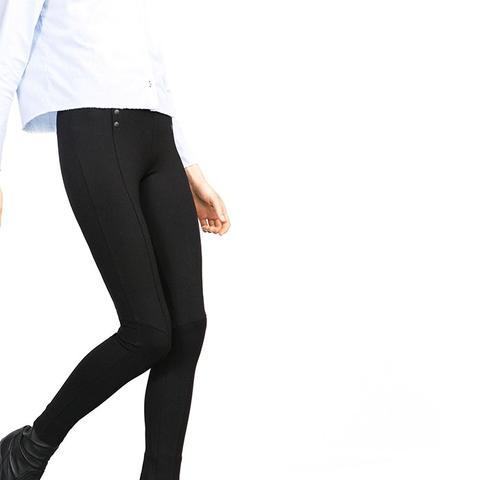 Leggings With Elastic Waistband