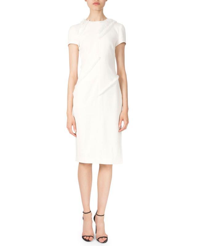 Altuzarra Short-Sleeve Sheath Dress
