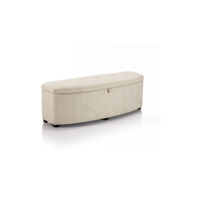 CR Essentials Crescent Storage Ottoman