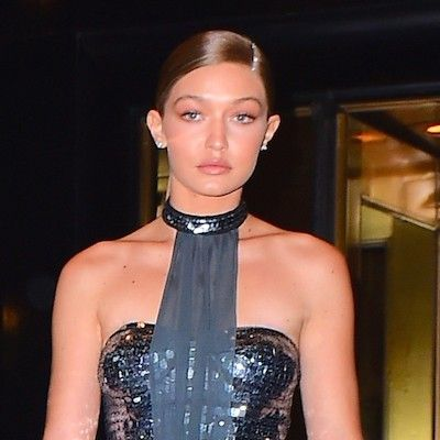 Gigi Hadid Designed Her Own Dress For the Met Gala