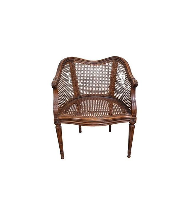 Chairish Vintage French Louis XV Caned Chair