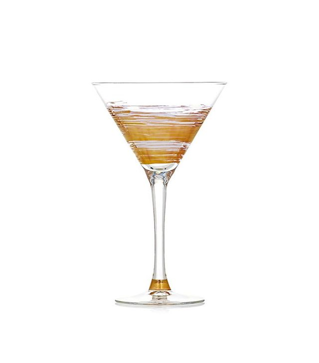 Marc Blackwell Brushstroke Equator Martini Glass