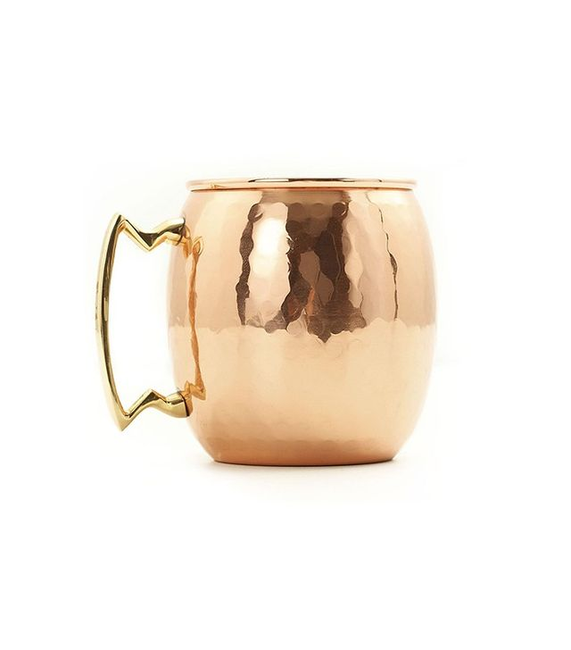 Old Dutch Solid Copper Hammered Moscow Mule Mug