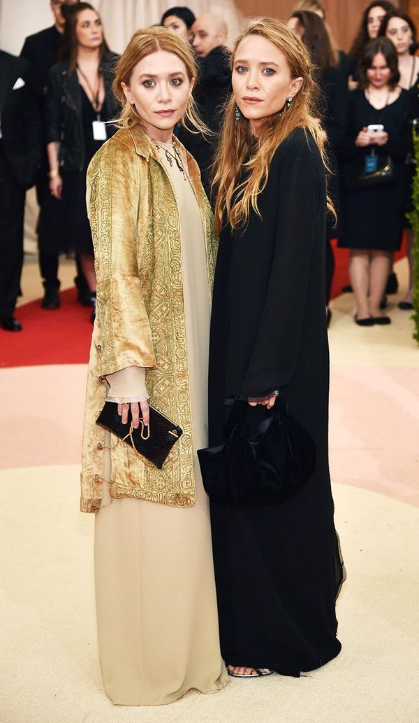 WHO: Mary-Kate and Ashley Olsen WEAR: Fred Leighton jewellery.