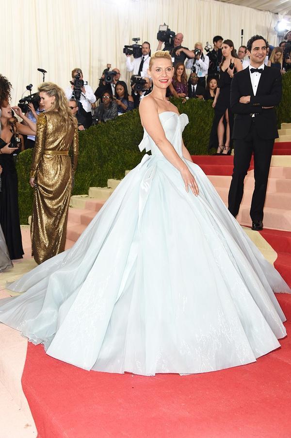 WHO: Claire Danes WEAR: Zac Posen gown.