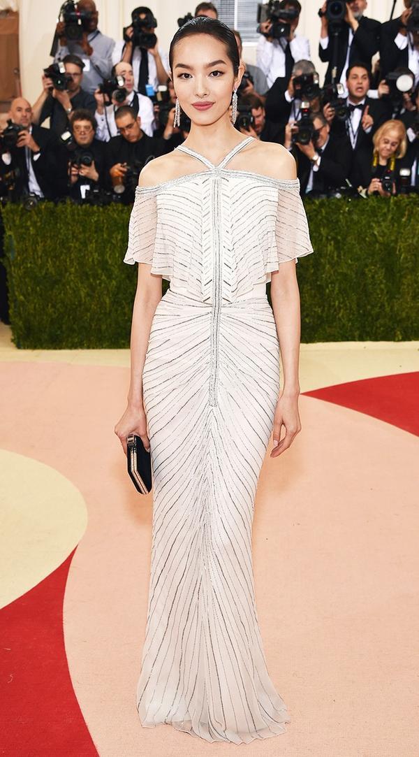 WHO: Fei Fei Sun WEAR: Chanel gown.