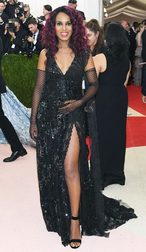 WHO: Kerry Washington WEAR: Marc Jacobs gown.