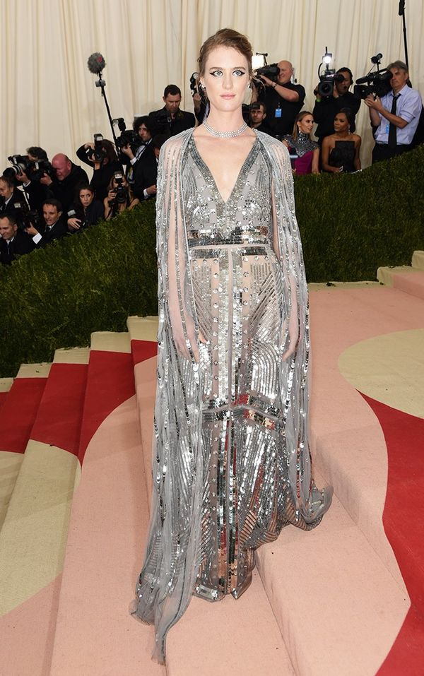WHO: Mackenzie Davis WEAR: Altuzarra gown.