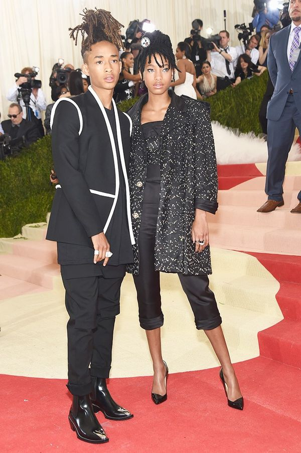 WHO: Willow and Jaden Smith WEAR: Chanel outfits.