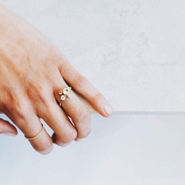 WWW: Talk us through the process from start to finish of creating a bespoke engagement ring—right up to the piece being packaged for the customer.
