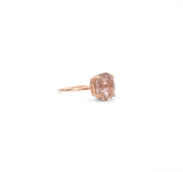 Natalie Marie Jewellery Precious Rutilated Quartz Ring