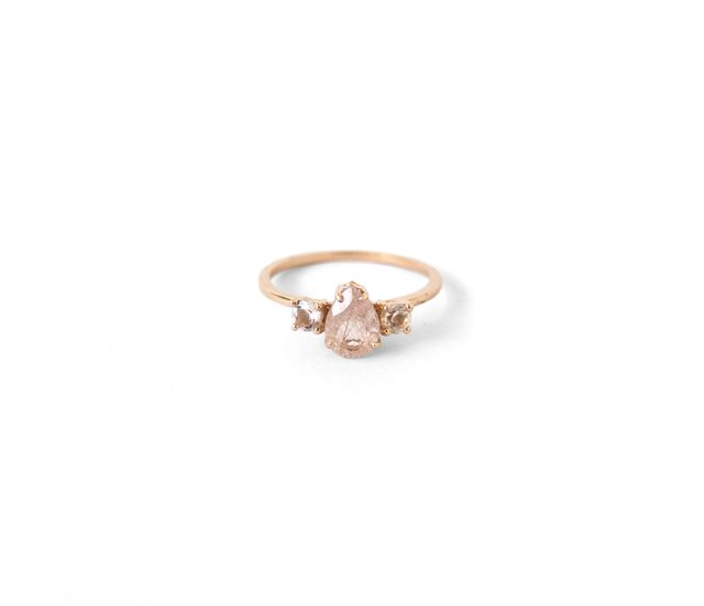 Natalie Marie Jewellery Precious Pear Trio Ring