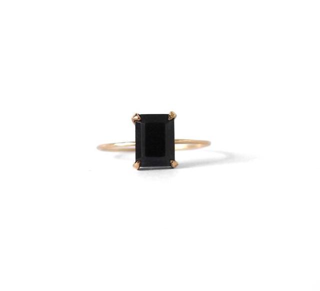 Natalie Marie Jewellery Emerald Stone Ring