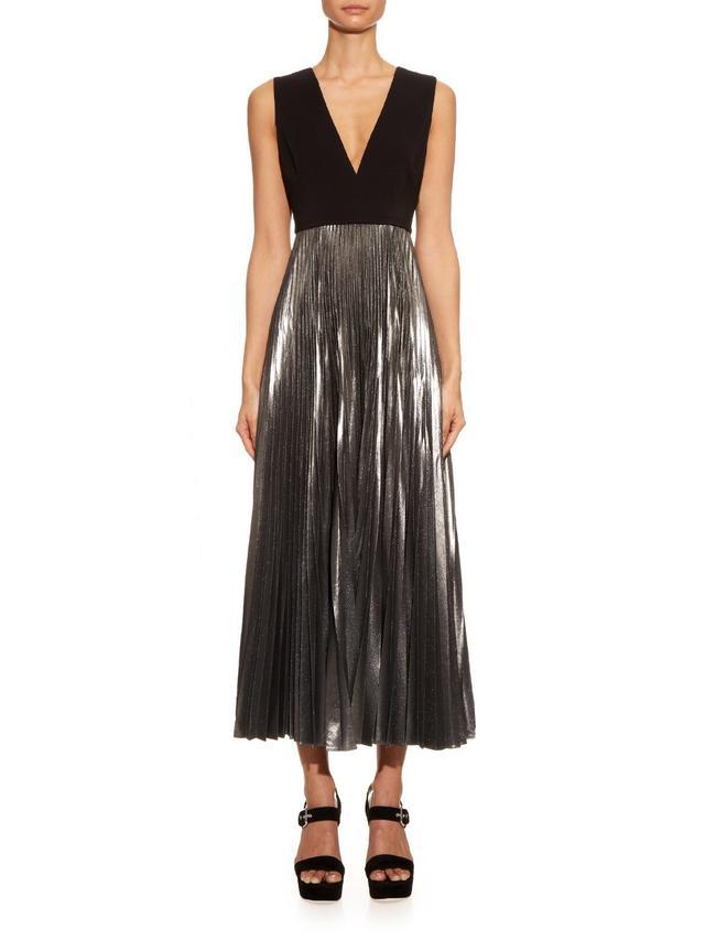 A.L.C Emilia Pleated Dress