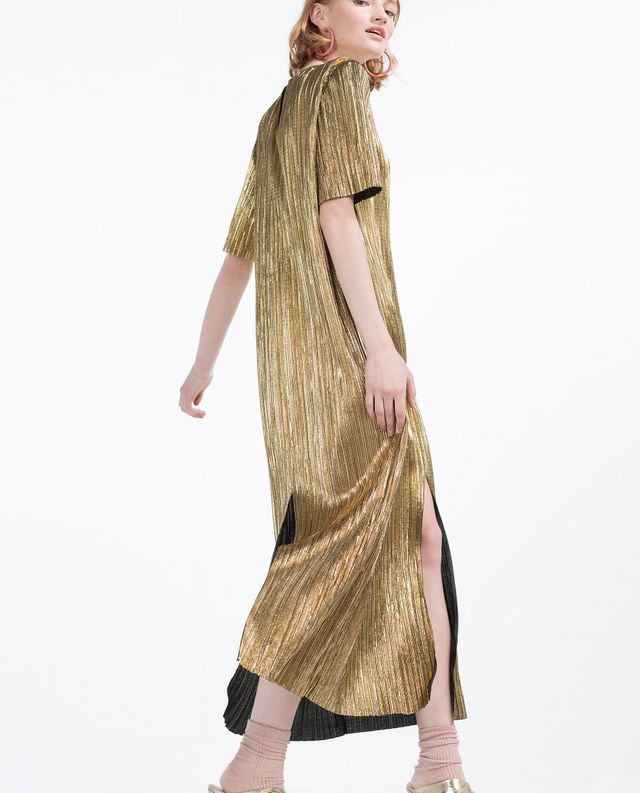 Zara Pleated Dress
