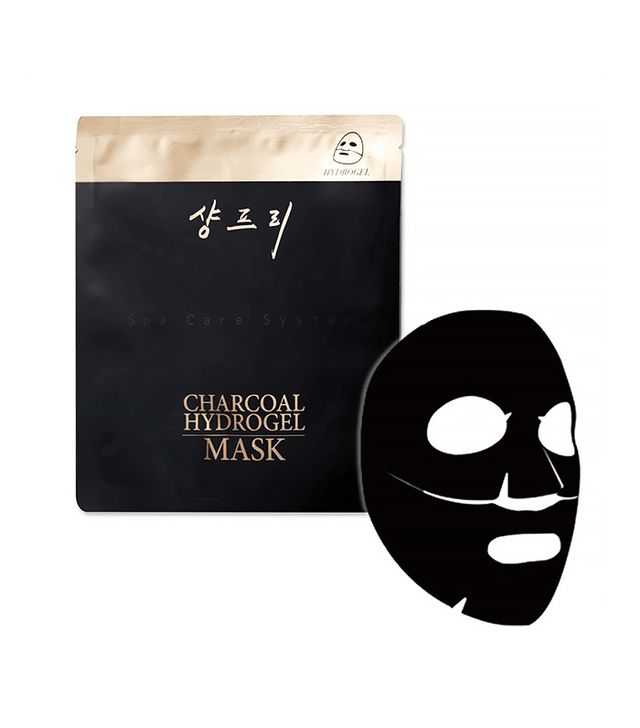 Peach & Lilly Charcoal Hydrogel Mask