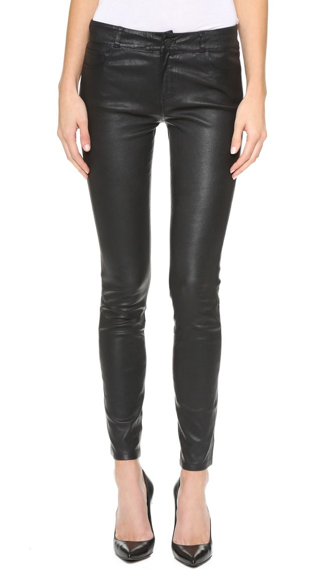 Paige Denim Verdugo Leather Pants