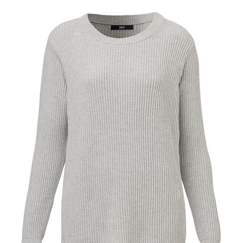 Boyfriend Ribbed Jumper