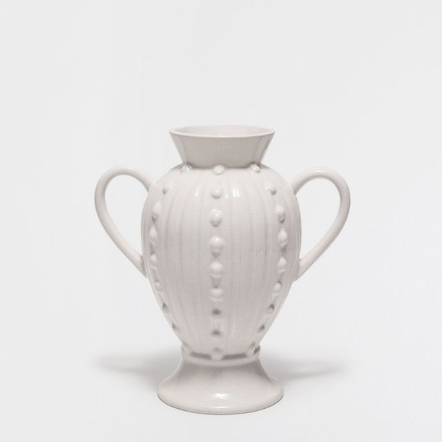 Zara Home White Vase