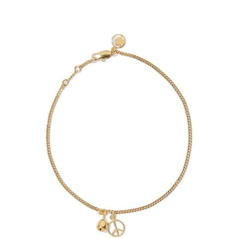 Gold-Plated Anklet