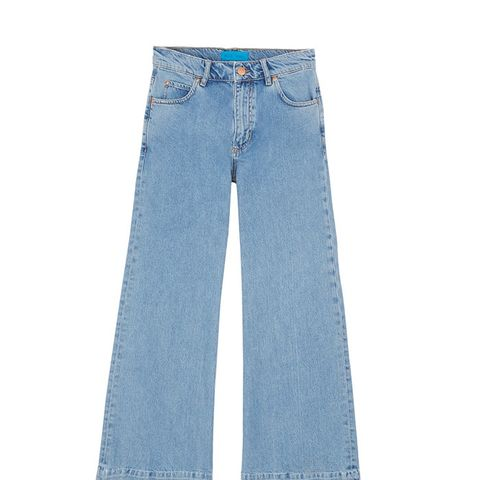 Topping Mid-Rise Wide-Leg Jeans