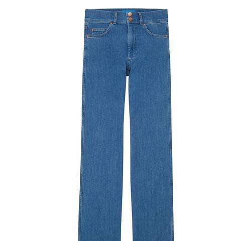 Berlin High-Rise Straight-Leg Jeans