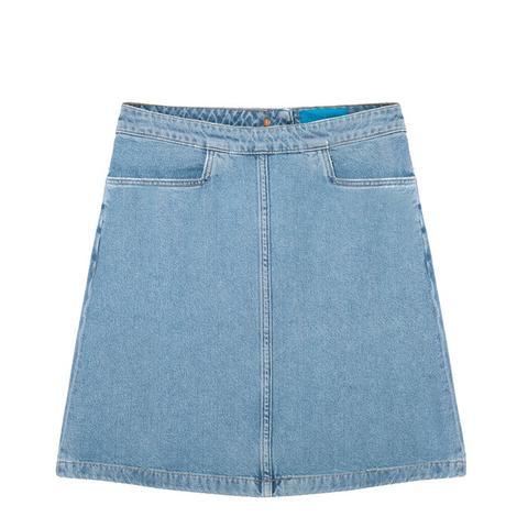 Decade Denim Mini Skirt