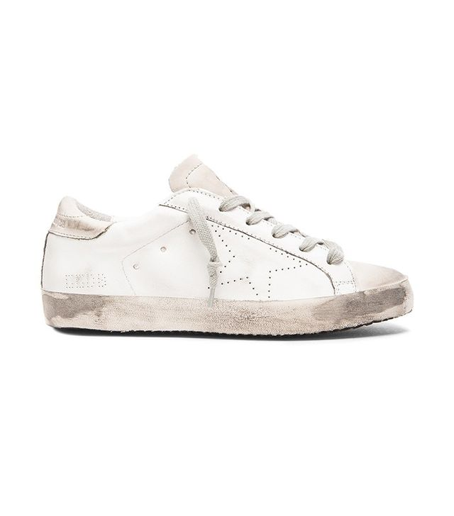 Golden Goose White Super Star Sneakers