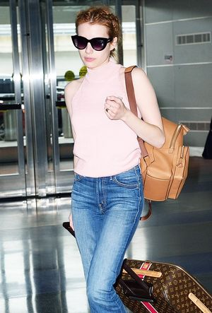 Emma Roberts Wore These Flats With 3 Different Outfits in One Week