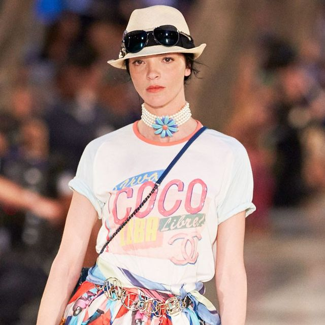 The #1 Outfit Combo We're Copying From Chanel's Cruise Show