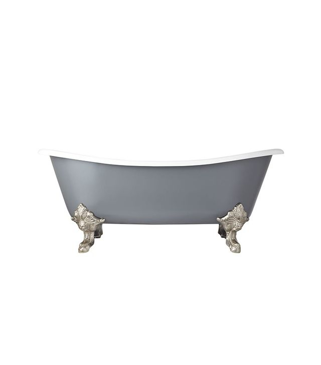 Signature Hardware Lena Cast Iron Clawfoot Tub