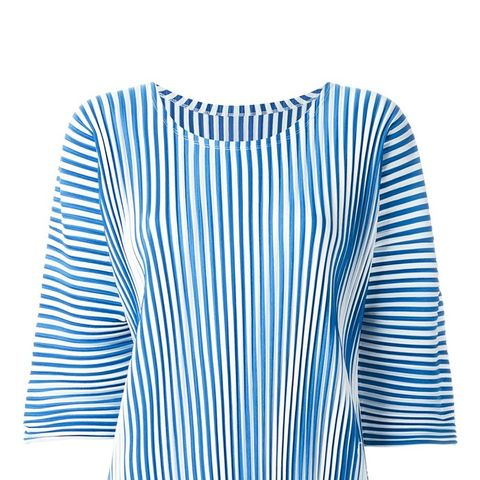 Striped ¾ Sleeve Top