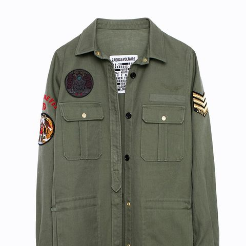 Tackl Army Overshirt