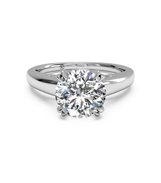 Ritani Cathedral Tulip Solitaire Engagement Ring