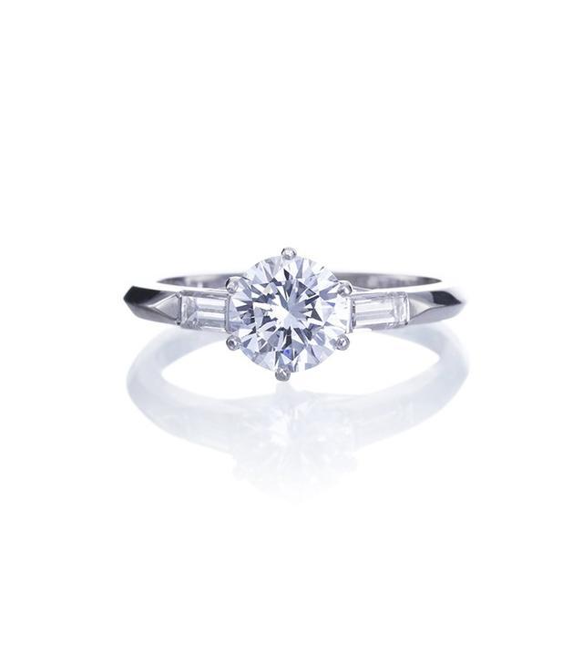 Gleem & Co Fasano Diamond Engagement Ring