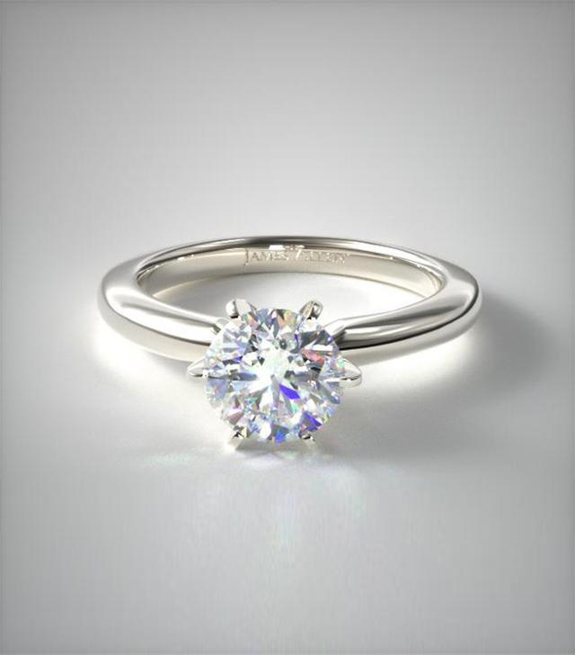 James Allen Solitaire Engagement Ring