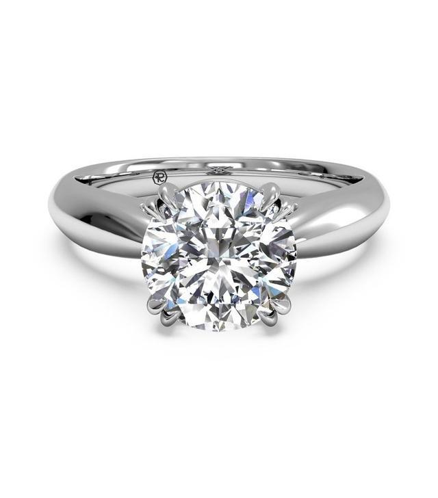 Ritani Solitaire Diamond Ring