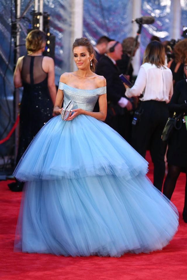 WHO: Rebecca Judd WEAR: J'Aton gown and Paul Bram Diamonds jewellery.