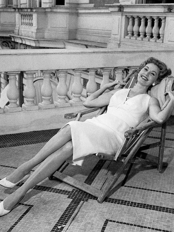 Cannes Film Festival Red Carpet Vintage:  Zsa Zsa Gabor