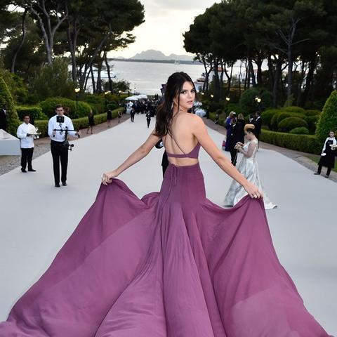 Cannes Film Festival Red Carpet Vintage: Kendall Jenner