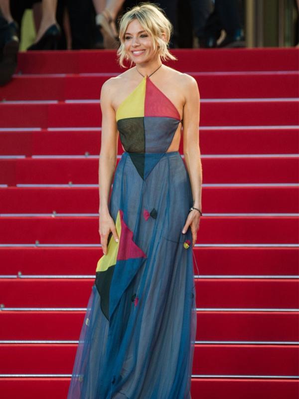 Cannes Film Festival Red Carpet Vintage:  Sienna Miller