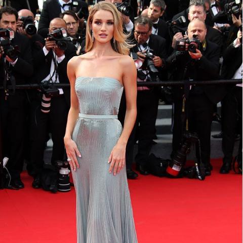 Cannes Film Festival Red Carpet Vintage: Rosie Huntington Whiteley
