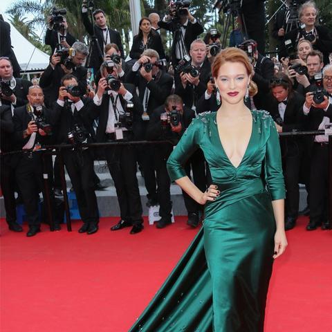 Cannes Film Festival Red Carpet Vintage: Lea Seydoux