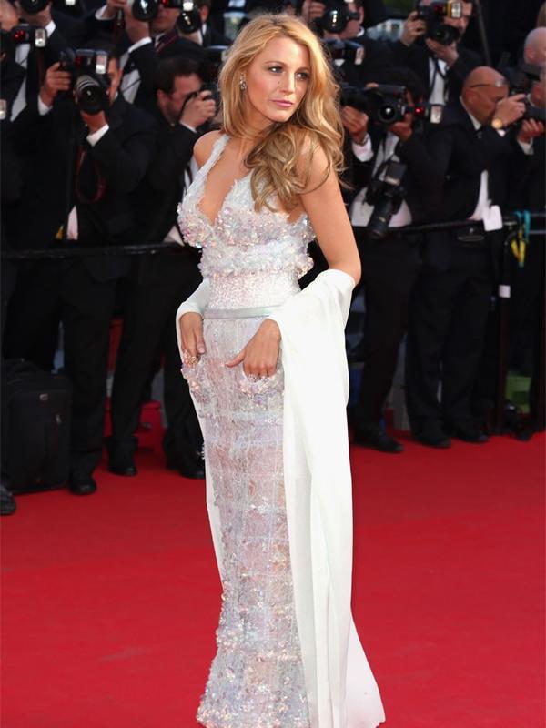 Cannes Film Festival Red Carpet Vintage: Blake Lively in Chanel