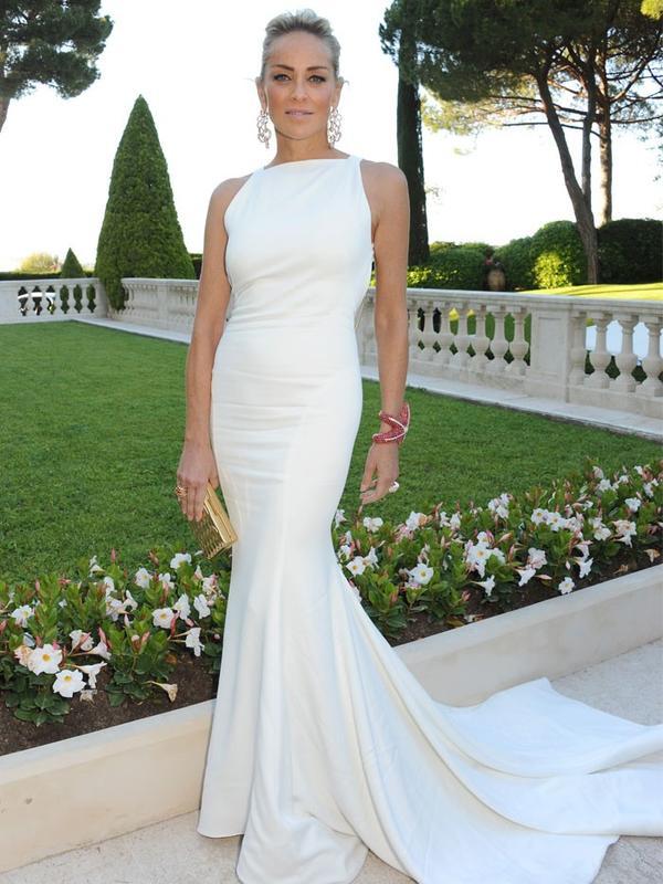 Cannes Film Festival Red Carpet Vintage:  Sharon Stone