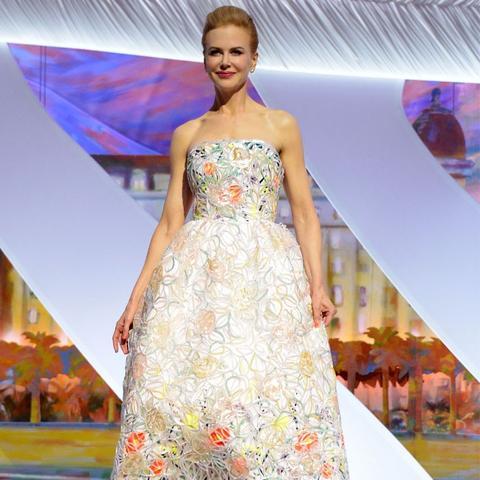 Cannes Film Festival Red Carpet Vintage: Nicole Kidman