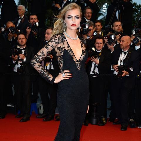 Cannes Film Festival Red Carpet Vintage: Cara Delevingne