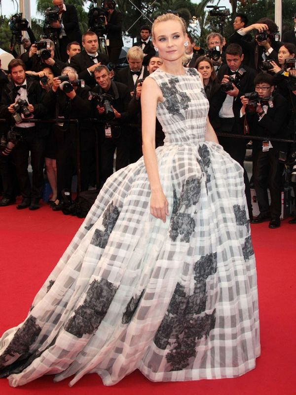 Cannes Film Festival Red Carpet Vintage: : Diane Kruger