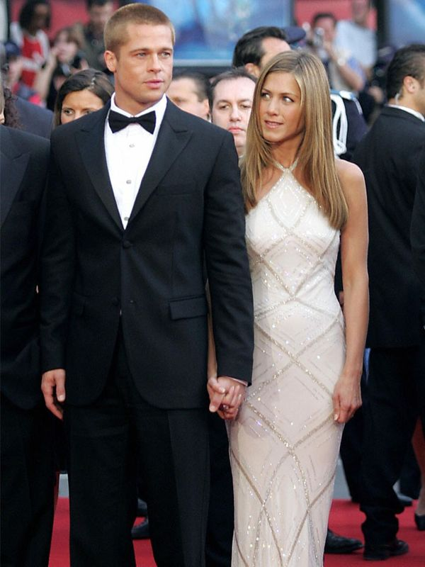 Cannes Film Festival Red Carpet Vintage: Jennifer Aniston and Brad Pitt
